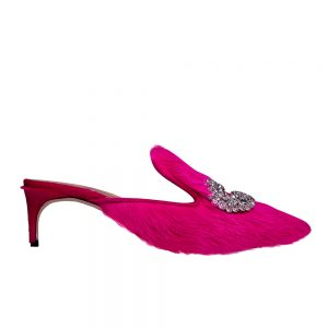 Daphne Kitten Fur - GIANNICO Italian Luxury Shoes