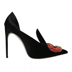 Daphne Pump black - GIANNICO Italian Luxury Shoes