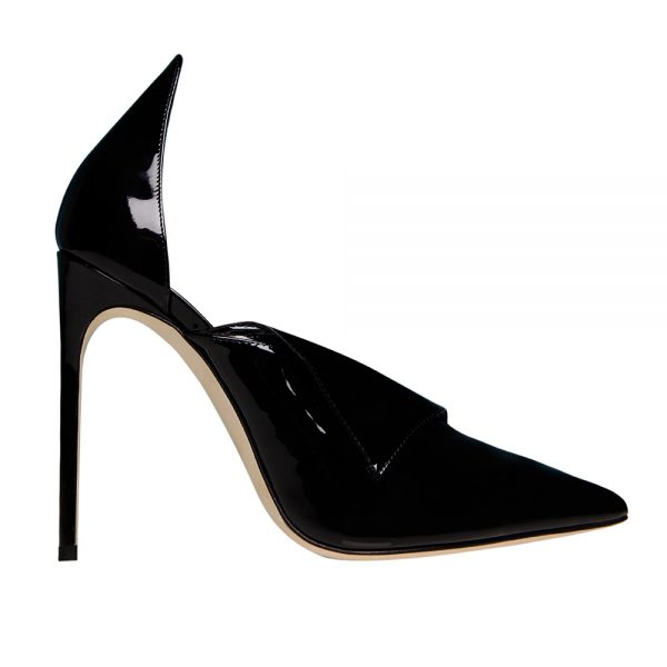 Fontana Pump Black - GIANNICO Official Italian Luxury Shoes