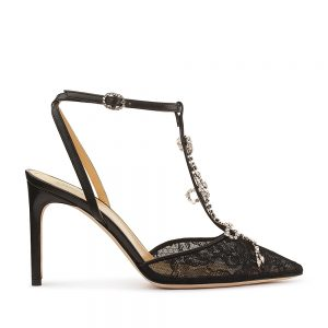 MERRY LACE NAPPA BLACK